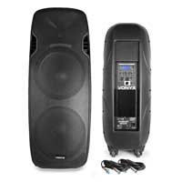 "Vonyx AP215ABT Dual 15"" Active Bluetooth DJ Speaker Pair"