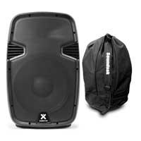 "Vonyx SPJ1200ABT 12"" Bluetooth Active Speaker with Speaker Bag"