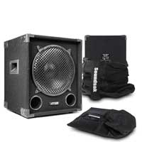 "Max12SUB 12"" Passive Subwoofer Pair with Bags"