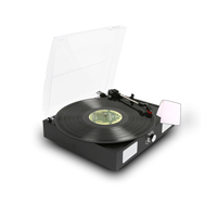 Record Player with Vinyl Cleaning Cloth - Fenton RP108B
