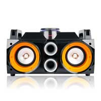 Rechargeable Bluetooth Speaker with LED Light - Fenton MDJ100 - 100W