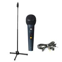PD PDM661 Wired Handheld Microphone Kit & Adjustable Mic Stand