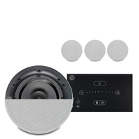 """Systemline E50 Ceiling Speaker System Touchscreen with 4 Qi65CB 6.5"""" Speakers"""