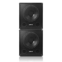 "Vonyx SWA15 15"" Active Subwoofer Pair"