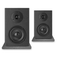 Vonyx SM40 Active Studio Monitors Pair & Isolation Pads