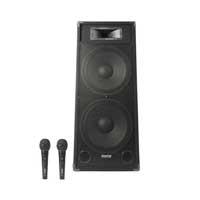 "Fenton CSB215 Dual 15"" Karaoke Speaker System & Microphones"