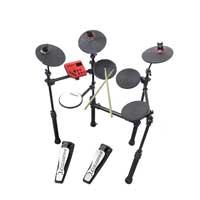 Carlsbro CSD100 R Kids Electronic Drum Kit - 7 Piece with Sticks
