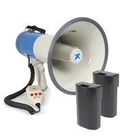 Vonyx MEG065 Battery Powered Megaphone & Additional Spare Battery