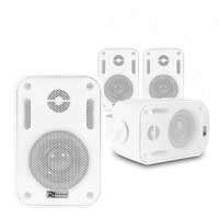 "4x BC30V White Speakers 100V 8 Ohm 3"" 60W - IPX5"