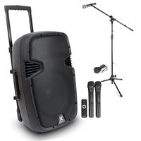 Vonyx SPJ-PA912 12 Inch Active PA Speaker with Microphone Set