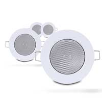 Set of 4x Fonestar GA-2542 Inch Ceiling LoudSpeakers with Grille