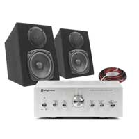 Fenton Passive Studio Monitors Pair with Amplifier