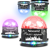 BeamZ PLS10 LED Disco Jellyball with Bluetooth Speaker, Set of 4