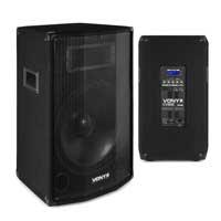 "Vonyx CVB12 12"" Bluetooth Active PA Speaker Pair"