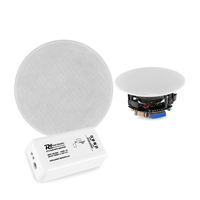 PD FCS5 Low Profile Ceiling Speakers with Bluetooth Amplifier