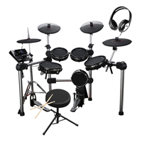 Carlsbro CSD600 Electronic Drum Kit with Stool & Headphones