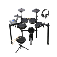 Carlsbro CSD400 Electric Drum Kit with Stool & Headphones