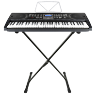 Max KB1 Electric Keyboard with Stand - 61 Keys