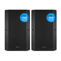 Vonyx VSA12 Active PA Speakers Pair