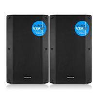 Vonyx VSA15BT Active PA Speakers Pair