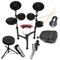 Carlsbro CSD130 Electric Drum Kit + Stool, Speaker & Headphones