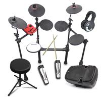 Carlsbro CSD100-R Electric Drum + with Stool, Speaker & Headphones