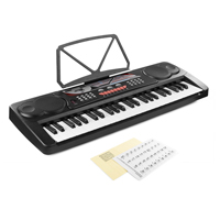 Max KB8 Music Keyboard - 49 Keys + Keynote Stickers