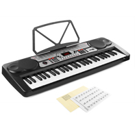 Max KB7 Music Keyboard - 54 Keys + Keynote Stickers