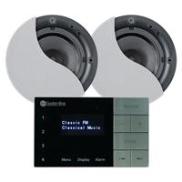 Systemline E100 Bluetooth Ceiling Speaker & Amplifier System
