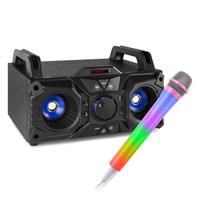 Fenton MDJ95 Bluetooth Karaoke Party Speakers & Karaoke Microphone