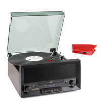 Retro Record Player & Spare Stylus - Fenton RP135W