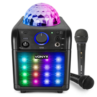 Vonyx SBS50Band Karaoke Machine Speaker Set with Microphones
