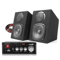 Fenton Passive Studio Monitors Pair & AV340 Amplifier
