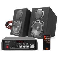 Fenton DMS40 HiFi Speakers & Amplifier with Bluetooth