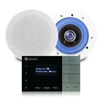 "Systemline E100 Bluetooth 6.5"" Ceiling Speaker System Pair"