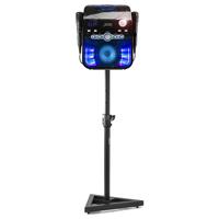 Fenton SBS20B Karaoke Machine TV System with Microphones, Stand & Lights