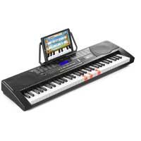 Kids Keyboard with 61 Lighted Keys & LCD Display - MAX KB9