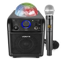 Kids Singing Machine with Wireless Microphone - Vonyx SBS50B