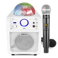 Kids Bluetooth Karaoke Machine with Wireless Mic - Vonyx SBS50W