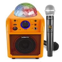 Childrens Karaoke Machine & Wireless Microphone - Vonyx SBS50L