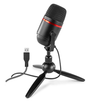 USB Recording Microphone with Stand - Power Dynamics PCM100