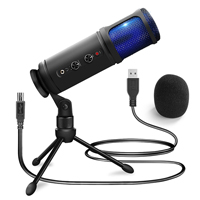 USB Vocal Recording Microphone with Stand - Power Dynamics PCM120