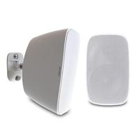 "4"" White Outdoor Weatherproof Speaker Pair - Fonestar SONORA-4TB"