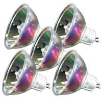 FX Lab Dichroic Lamp 24v 250W Disco Light Bulbs Replacement 5 Pack