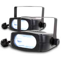 BeamZ Stroboscope Strobe Light - Party Light, Pair