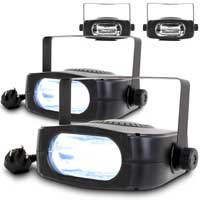 BeamZ Stroboscope Strobe Light - Party Light, Set of 4