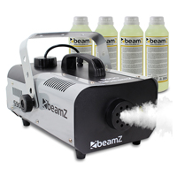 Beamz Smoke Machine + 4x 250ml Fluids 900W