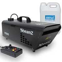 Beamz F1500 Fazer Haze Machine + 5L Haze Fluid 1500W