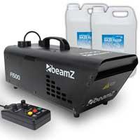 BeamZ F1500 DMX Haze Machine & 10L Fluid
