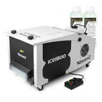 BeamZ ICE1800 Low Fog Machine with 500ml Fluid